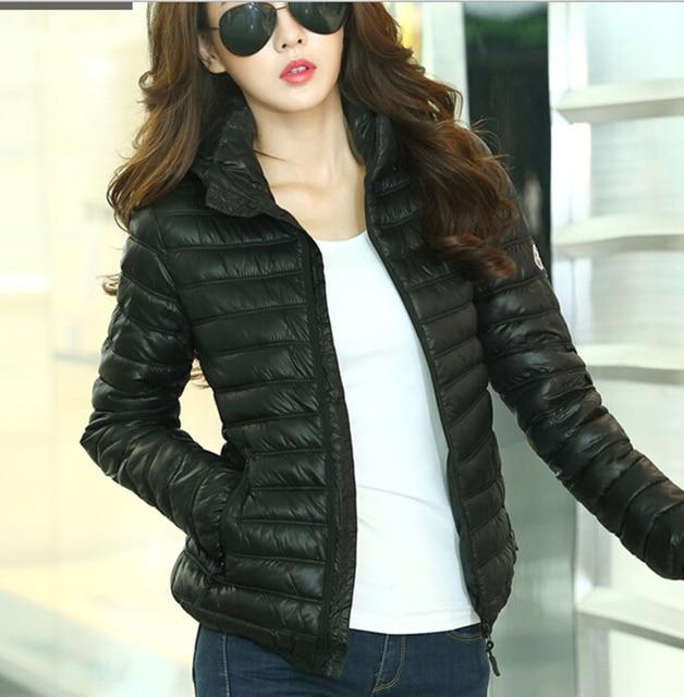 Winterjas Women.Plus Size Women Ultra Light Down Jacket 2015 Winter Coat Womens