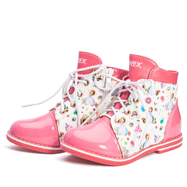 863c4cdd82 Autumn Winter Girls boots Fashion Boots for children classic Martin Boot  Kids Boots PU Leather baby Toddler Shoes