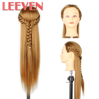 20Inch Fiber Long Hair Styling Cosmetology Mannequin Heads Hair 270g Pcs High Quality And Low Price