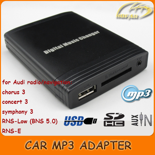 usb sd aux mp3 adapter for audi radio chorus 3 concert 3. Black Bedroom Furniture Sets. Home Design Ideas