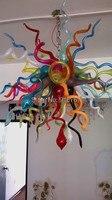 Gratis Verzending Hedendaagse Decoratieve Kroonluchter Art in Glas