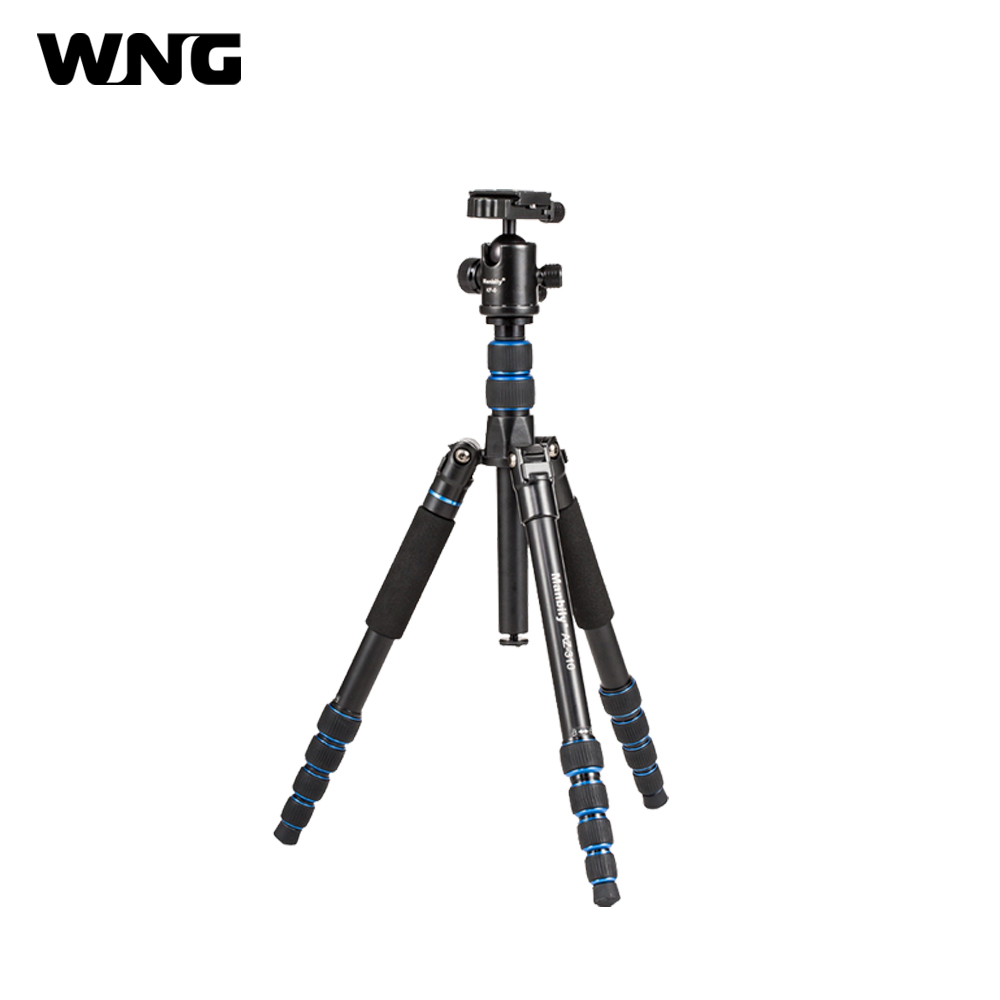 Professional Camera Photographic Tripod Stand Portable Flexible Tripods Monopod with 360 Ball Head + Protect Leg for Photo Video