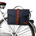 Tourbon Ретро Холщовая Сумка на заднее сиденье велосипеда, сумка для велосипеда, передний кошелек-туба, большая сумка для езды на велосипеде, во...