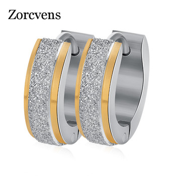 Women's Stainless Steel Small Hoop Earrings 1