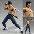 Max Fábrica Figma Bruce Lee 266 PVC Action Figure Collectible Modelo Toy 14 cm KT1918
