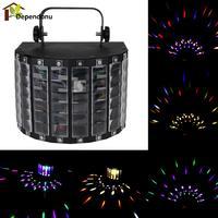 Oto Ses Aktif LED Sahne Işık Lazer Projektör için RGB LED Sahne Işıkları KTV Xmas Party Düğün Göster Pub Disko