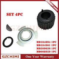 MD184894,MD184901,MD309036,MD008959 Crankshaft Gear Sprocket & Sensor Blade &Spacer For Mitsubishi Montero Pajero/Sport