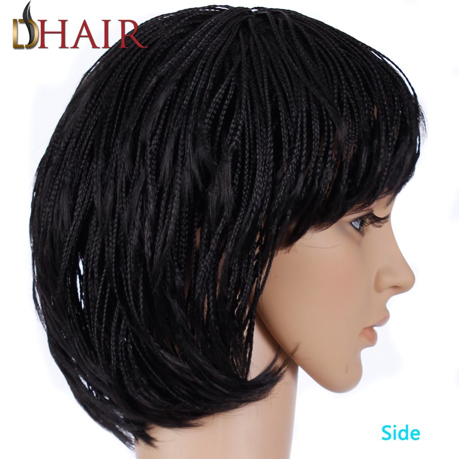 Terrific Popular Short Bob Braided Wigs For Black Women Buy Cheap Short Bob Hairstyles For Men Maxibearus