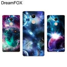 Dreamfox l375 Горячие Луны и космоса Географические карты Мягкие TPU силиконовый чехол для Xiaomi Redmi Note 3 3 s 4 4A 4x Pro премьер глобальный