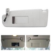 Para VW GOLF GTI COELHO R32 PASSA Interior CC Frente Esquerda/Direita Painel Pala de Sol Espelho de Maquiagem w/ cabo