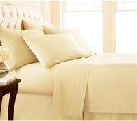 مجموعة غطاء سرير فاخرة عالية الجودة المصرية e مجموعة غطاء سرير جيب عميق