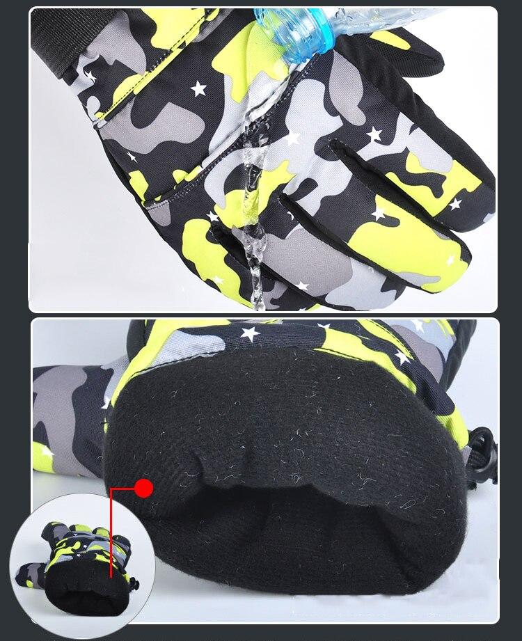 GLV917 Lovers outdoor ski font b gloves b font Professional wind waterproof font b gloves b