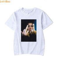 ラッパーのエミネム Tシャツの男性の夏 2019 新エミネムクールおかしい Tシャツロックプリントメンズヒップホップ Tシャツ綿流行半袖