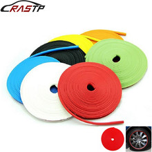 RASTP-Car Styling Wheel Hub Protector Sticker Car Decorative Strip Auto Rim/Tire Protection Care Covers RS-SKT005
