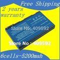 Jigu bateria do portátil para acer aspire 3100 3103 3690 5100 5101 5102 5110 5515 5610 5630 5650 5680 Travelmate 2450 2490 4200 4230
