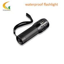 Mini LED Flashlight Lanterna Torch 2000 lumen Zoomable lamp mini flashlights waterproof flashlight scuba light led