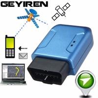 Waterproof Global Universal Vibration Alarm Car GPS Locator Car OBD2 OBD II GPS Tracker Car Mini GSM Pear Alarm Vehicle Tracker