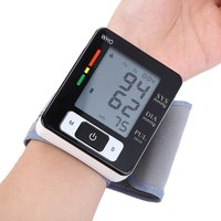 Large Amp Clear Lcd Automatic Ck W133 Arm Blood Pressure Pulse Monitor Health Care Digital Upper