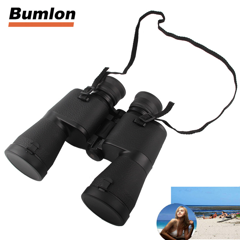 10x50 Binocular HD Low Light Night Vision Telescope For Outdoor Sports Hunting Camping Mountaineering Hiking 38-0005 original yukon 25024 night vision binocular tracker rx 2x24 to 3 5x40 hunting night vision binocular with doubler