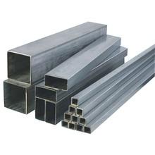 304 квадратная труба из нержавеющей стали прямоугольная резка труб произвольная обработка DIY металлический материал может быть настроен