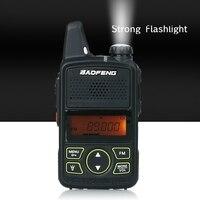 מכשיר הקשר Baofeng מיני מכשיר הקשר BF-T1 LCD UHF FM Ham CB רדיו שני הדרך רדיו לילדים 1500mAh HF משדר Interphone (4)