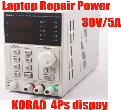 KORAD KA3005D high precision Adjustable Digital DC Power Supply 4Ps mA 30V/5A for scientific research service Laboratory цена 2017