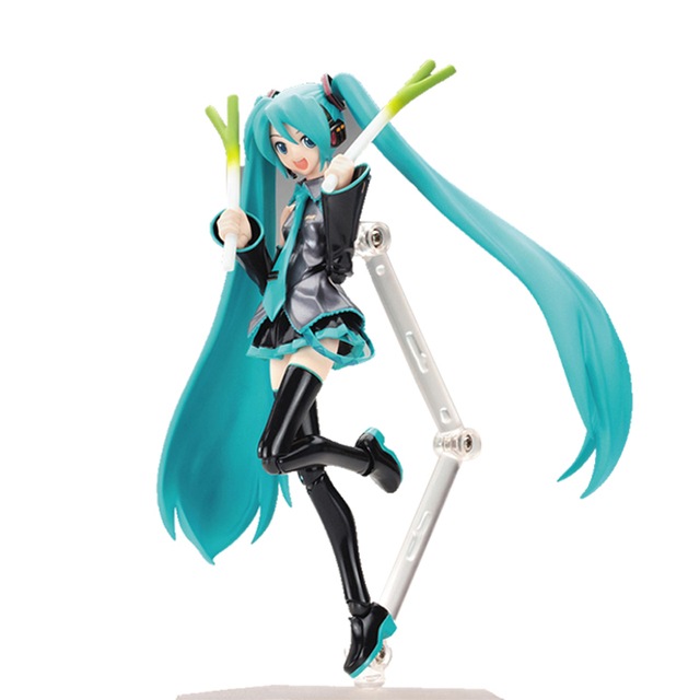 "Hatsune Miku 1/8 Scale Figurine  PVC Manga Dolls Action Figure 15cm/6"""