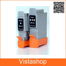 3 Set Compatible Ink Cartridge For Canon BCI-24 For Canon BCI 24  i250 i320 i350 i450 i470 i455 i475 Printer чернила inksystem для фотопечати на canon bj i470 фоточернила