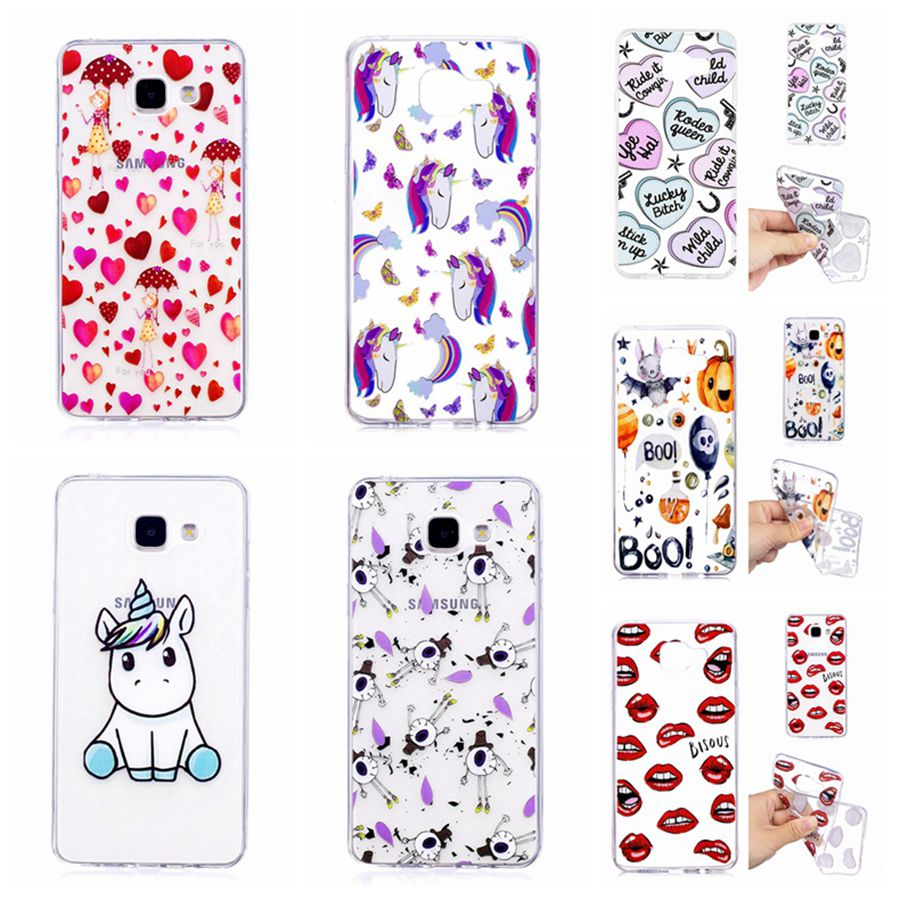 Soft Silicone For Samsung A5 2017 A520F TPU Phone Back Cover Cases For Coque Samsung Galaxy A3 A5 A7 2016 2017 Cover Soft TPU