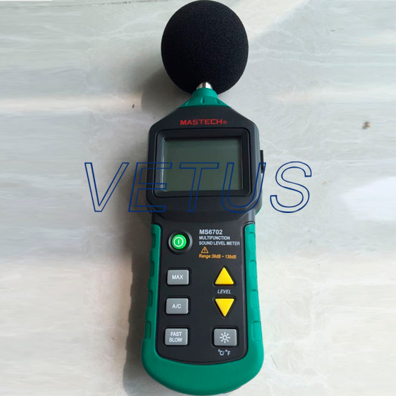 Digital Sound Level Meter Noise Meter dB Decible Meter Resolution 0.1dB sound level meter sk1358
