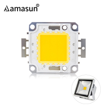Светодиодный чип высокой яркости 10 Вт, 20 Вт, 30 Вт, 50 Вт, 100 Вт, светодиодный COB чип, белый, теплый, белый, высокое качество, для DIY, прожектор, светильник, точечный светильник