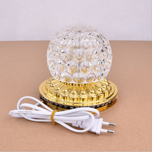 Mini LED Disco Ball DJ Light Stage Lamp RGB Flash Party Wedding Christmas Family KTV Dance Floor Strobe Magic Ball Light Show