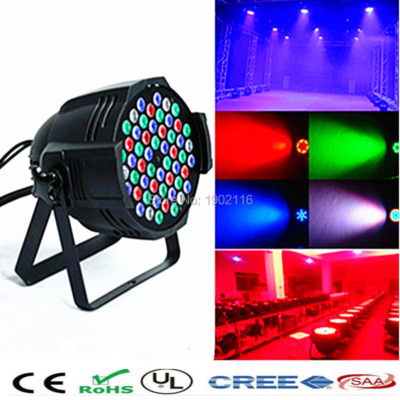 Responsible 4pcs Waterproof Led Flat Par 18x12w Rgbw Dmx512 Stage Effect Lighting Good For Outdoor Swimming Pool Dj Disco Party Dance Floor Stage Lighting Effect