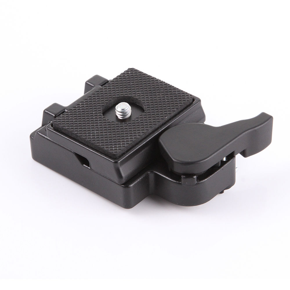 1/4 Screw Metal Quick Release Plate Clamp Adapter for Manfrotto 200PL-14 323 RC2 System Tripod площадка manfrotto 200pl 14 38