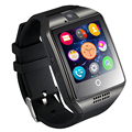 """Мода Мужчины Женщины Smart Watch Q18 Для Android и IOS Поддержка MaxSim Bluetooth Smartwatch 1.54 """"HD OGS Запястье Браслет"""