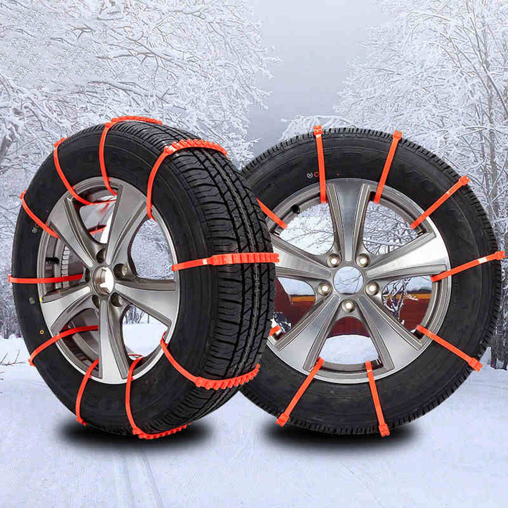 Car-styling KAKUDER Spikes For Tires 10Pcs Winter Snow Chains for Car Mud Wheel Tyre Thickened Tire Tendon td1129 drop shipping