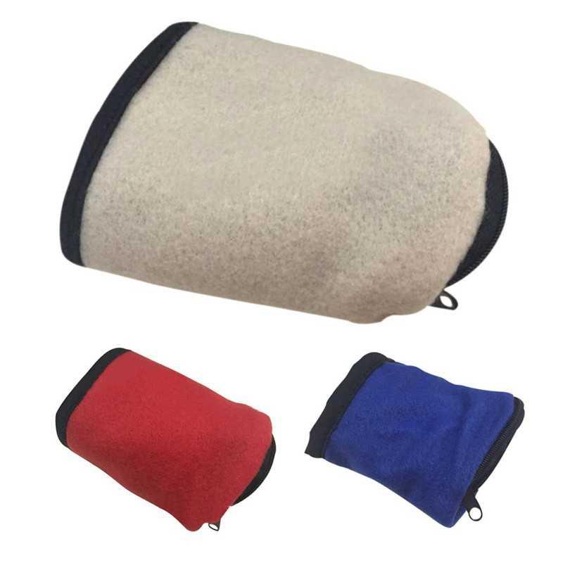 2018 Zipper Fleece Wrist Wallet Pouch Arm Band Bag For MP3 Key Card Storage Bag Cas Arm Band Wrist Purse Bag 4 Colors