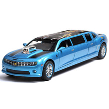 Ant Bumblebee alloy cool car model pull back sound and light children toys hot sale plus long decoration