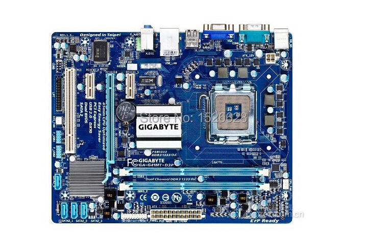 100% original Free shipping motherboard for Gigabyte GA-G41MT-D3P DDR3 G41MT-D3P LGA 775 free shipping original motherboard ga g41mt s2 lga 775 ddr3 g41mt s2 8gb fully integrated g41 free shipping