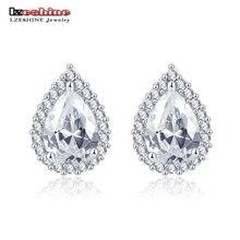 Lzeshine Trendy Pear Shape Stud Earrings For Women