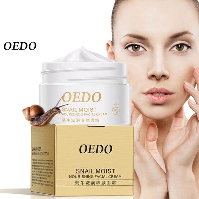 Crema Facial nutritiva húmeda de Caracol crema antiarrugas importadas materias primas cuidado de la piel Anti envejecimiento cuidado de Caracol arrugado