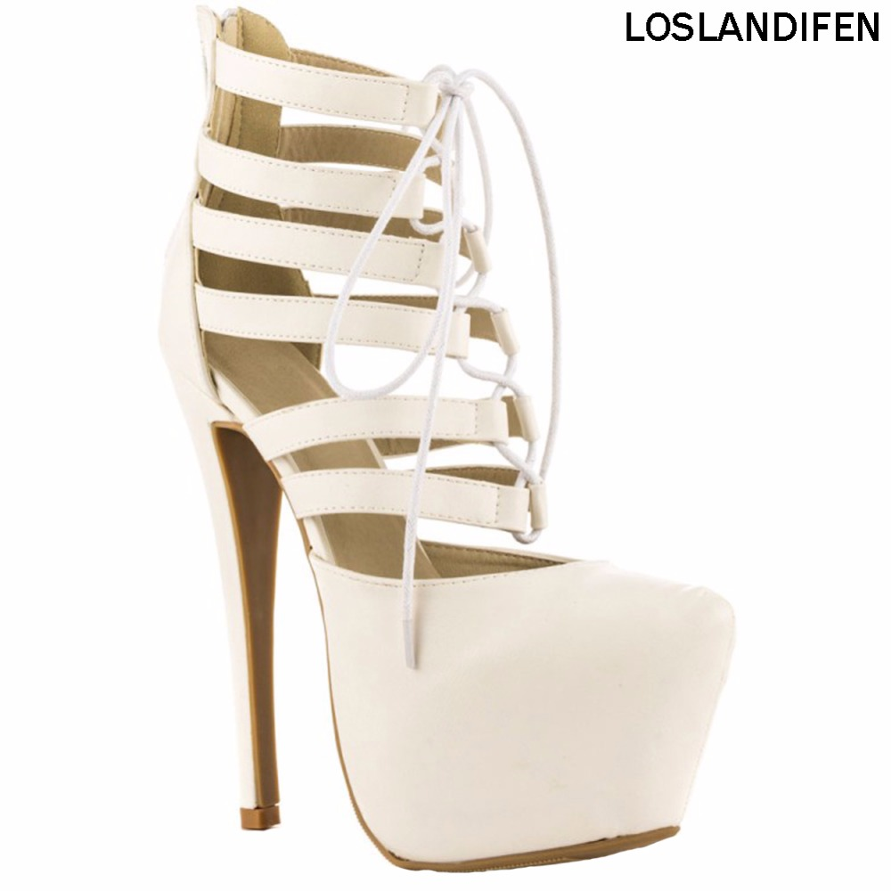 Womens 14.5cm High Heel Platform Sandals Crosscriss Summer Sexy Party Prom Fashion Shoes XD294Womens 14.5cm High Heel Platform Sandals Crosscriss Summer Sexy Party Prom Fashion Shoes XD294