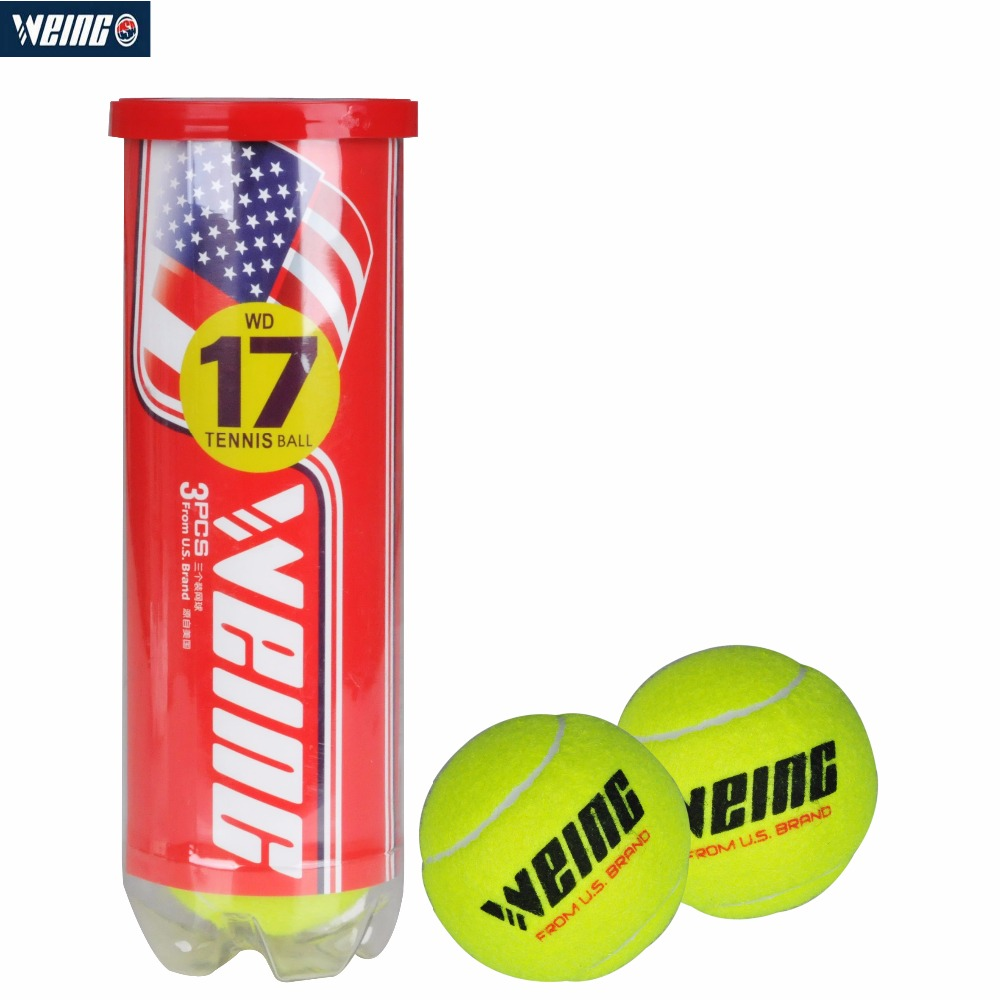 WEING WD-17 Tennis Ball For Competition Amture Durable Wear-resistant For Tennis With Boxing
