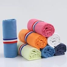 купить 2019 New Beach Towel Microfiber Travel Fabric Quick Drying Outdoors Sports Swimming Camping Bath Yoga Mat Blanket Gym Adults дешево