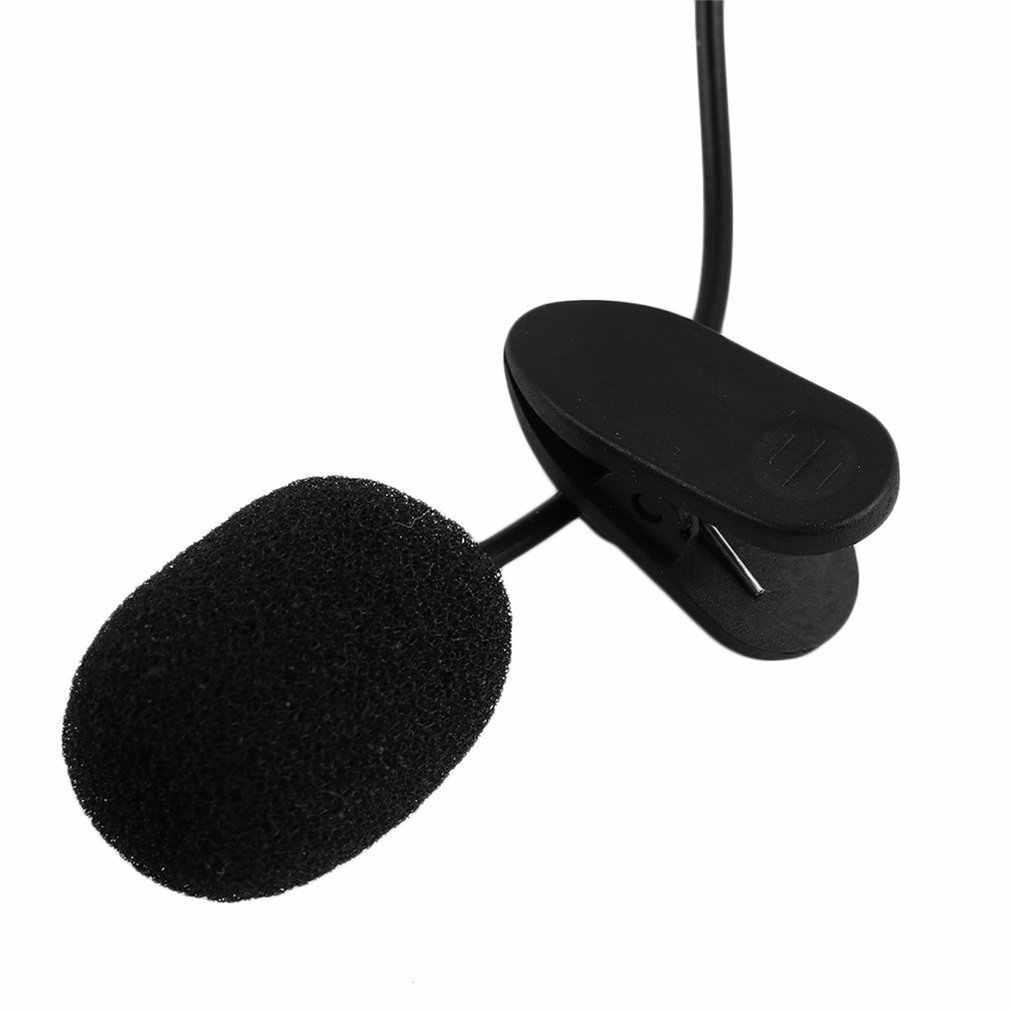 Портативный внешний 3,5 мм Hands-Free мини проводной воротник клип лацкальный лавальерный микрофон для ПК ноутбука курка динамик Горячая
