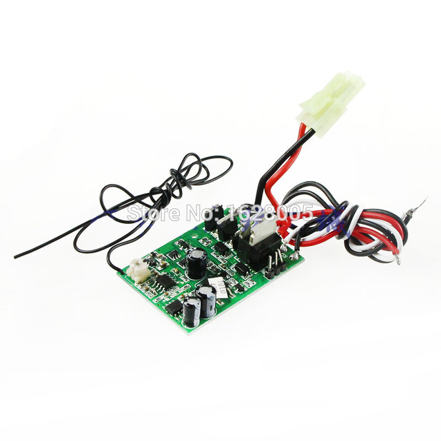 27MHz 40MHZ 49MHZ Receiver board / circuit board with wires Spare ...