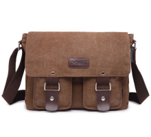 High Quality Men Messenger Bags Canvas Vintage Cross body Satchel Shoulder Men's School Book Bag free shippping