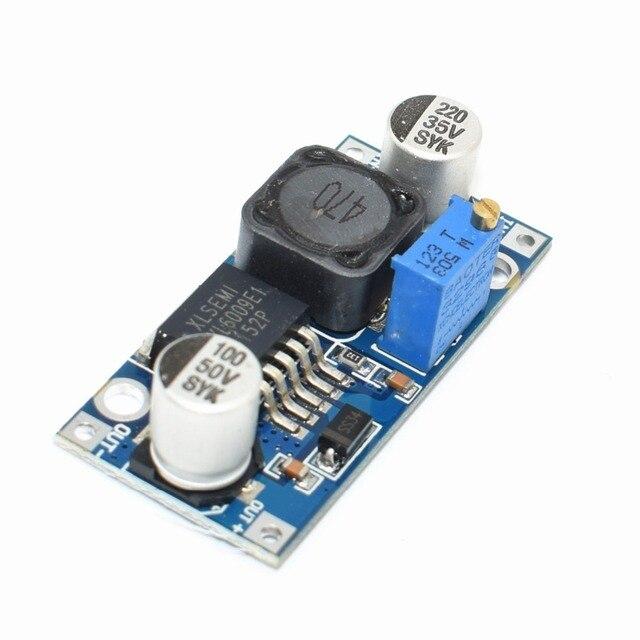 100 teile/los TENSTAR ROBOTER XL6009 DC DC Booster modul netzteil modul ausgang ist einstellbar Super LM2577 schritt up modul