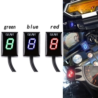 Plug Mount 1 6 Speed Gear Indicator Gear Meter Fit For Yamaha Motorcycle EFI Engine FZ6R XJ6 XJR400 MT03 YZF R6 FZ8 FZ1 FJR1300