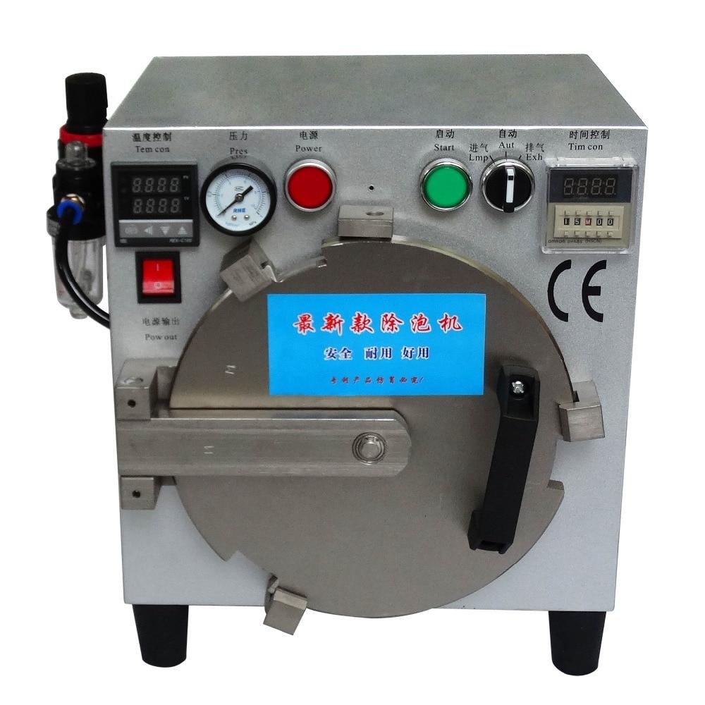 цена  Free shipping 110V 220V LY 963A 9 inch  OCA Bubble Defoaming Machine  screens LCD Screen bubble remover defoam machine  онлайн в 2017 году